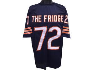 """William Perry """"The Fridge"""" Chicago Bears unsigned Navy TB Prostyle Jersey XL"""