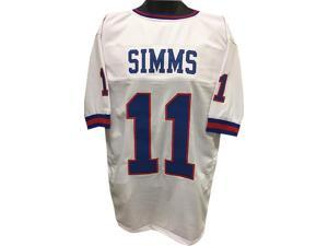 Phil Simms New York Giants unsigned White TB Prostyle Jersey XL