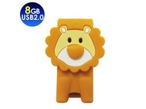 TCELL Toffy Lion USB2.0 8GB USB Flash Drive