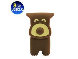 TCELL Choco Dog USB2.0 8GB USB Flash Drive