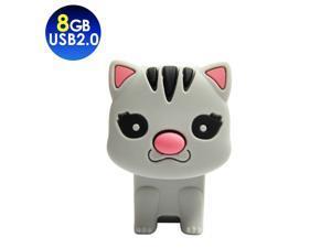 TCELL Cloudy Cat USB2.0 8GB USB Flash Drive