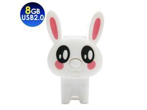 TCELL Marshmellow Rabbit USB2.0 8GB USB Flash Drive