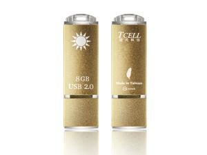 TCELL-SunShine Disk USB2.0 8GB  USB Flash Drive