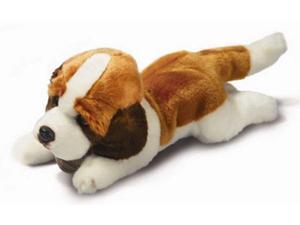 "Russ Berrie Yomiko 17"" Plush SAINT BERNARD Dog"