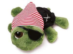 Russ Berrie Li'l Peepers SHECKY Pirate Plush Turtle