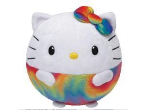 Ty Beanie Ballz Hello Kitty - Rainbow