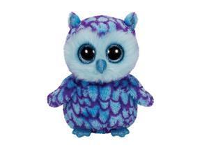 Ty Beanie Boo 6 Oscar The Blue Owl