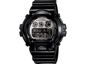 Casio G-Shock Mirror-Metallic Mens Digital Watch Black - Casio DW6900NB-1