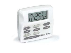 Focus Electrics 40053 Wb triple timer w/clock