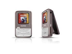 "SanDisk Sansa Clip Zip 1.1"" Gray 4GB MP3 Player SDMX22-004G-A57G"