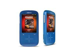 "SanDisk Sansa Fuze+ 2.4"" Blue 4GB MP3 / MP4 Player SDMX20R-004GB-A57"