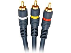 Steren 254-325BL Steren 25' python  3 av cable