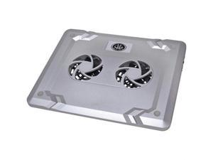 Gear Head CF3000U-CP12 Gear head 15 6 silver dual-cool notebook cooling fan
