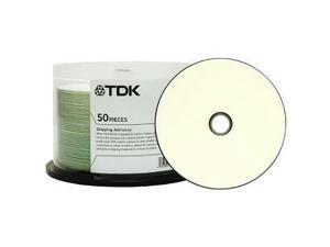 TDK Electronics 48944 Cd-r 80 min700mb 52x 50 pk wht