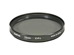 Sunpak CF-7062-CP Sunpak 72mm circular polarized filter