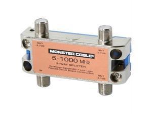 MONSTER CABLE SS3RF MKII Monster cable ss3rf mkii monster standard 3-way rf splitter for catv signals