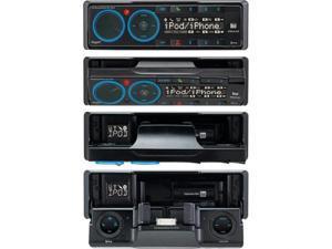 Dual XML8100 AM/FM Mechless Receiver with iPod Dock, BT Ready, SWI, iPlug, Remote (Black)