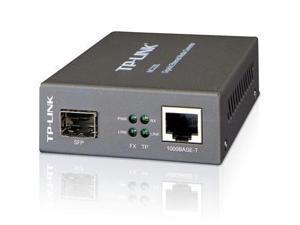 TP-Link Network MC220L Gigabit Ethernet Media Converter 1000M SFP Slot Retail