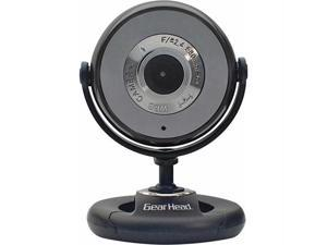 GEAR HEAD WC740I-CP10 1.3M USB 2.0 Webcam with Microphone