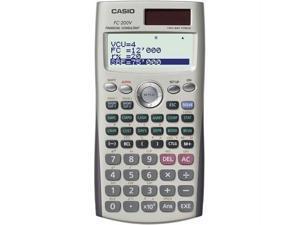 Casio FC200V Casio 4-line display financial calculator