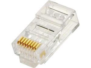 Steren 301-191-25 Steren cat6 modular plug - solid - 25-pack