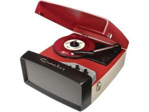 Crosley CR6010A-RE Collegiate Turntable, Red