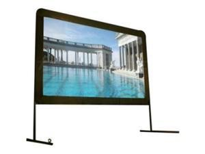 """Elite Screens OMS120H Yardmaster Portable Outdoor Self Standing Projection Screen (120"""" 16:9 Aspect Ratio) (DynaBrite) - 59"""" x 104.7"""" - DynaBrite"""