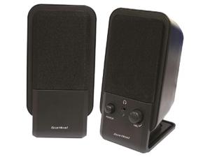 Gear Head SP2600ACB Gear head powered 2 0 desktop speaker system