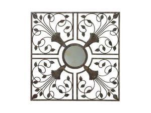 """Gardman Moorish Mirror Wall Art - Antique Rust - 22"""" L x 22"""" W - Moorish Mirror22"""" x 22"""" x 4 Pack"""