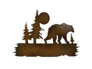 """Gardman Bear Wilderness Wall Art - 16"""" L x 25"""" W - Bear - 25"""" Width x 16"""" Length - 12 Pack"""