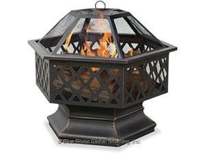 Blue Rhino WAD1377SP Wood Fireplace - Outdoor - Freestanding