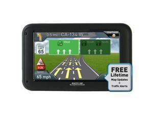 "MAGELLAN RoadMate 5265T-LMB 5.0"" GPS Navigation w/ Lifetime Map Update & Traffic"