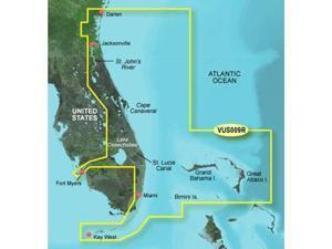 Garmin BlueChart g2 Vision Jacksonville to Key West Digital Map
