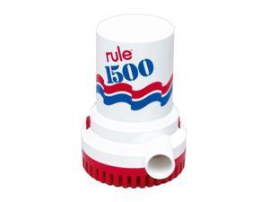 Rule 1500 GPH Non - Automatic Bilge Pump - 24v - 03