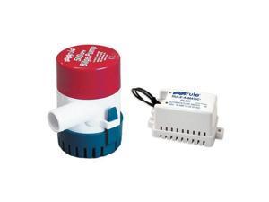 Rule 500 G.P.H. Bilge Pump w/ Rule-A-Matic Plus Float Switch