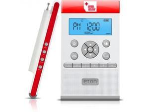 American Red Cross ZoneGuard Clock Radio - Mono - AM, FM, WB - Preset Snooze
