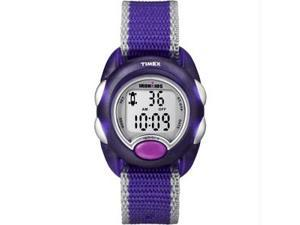 Timex Iron Kids Digital - Purple/Silver