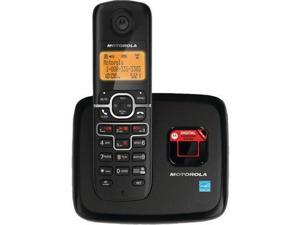 MOTOROLA 701M 1.9 GHz Digital DECT 6.0 1X Handsets Dect6.0 with ITAD Integrated Answering Machine