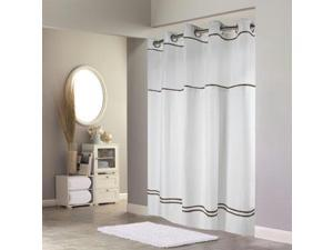 HK Shower Curtain 71x74 Wt Br