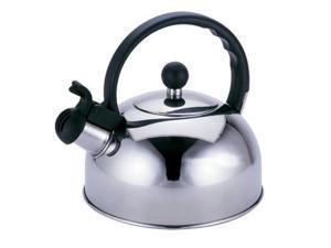 Primula 2.5 Qt Liberty Whistling Tea Kettle - 2.50 quart Kettle, Lid - Steel, Phenolic Handle - Kettle