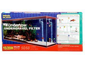 Undertow Undergravel Filter for 15 & 20H Gallon Aquariums