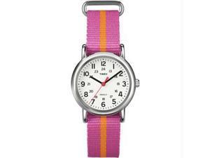 Timex Weekender Slip Through Mid-Size - Pink/Orange