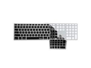KB Covers Checkerboard Clear with Black Keyboard Cover for Apple Ultra-Thin Keyboard Checkerboard (Clear with Black Buttons)