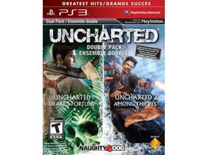 Sony PlayStation 98375 Uncharted 1&2 dual pack ps3