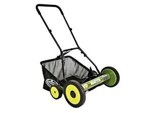 "Sun Joe Mow Joe 20-IN Manual Reel Mower with Grass Catcher - MJ502M - 20"" Cutting Width - Reel"
