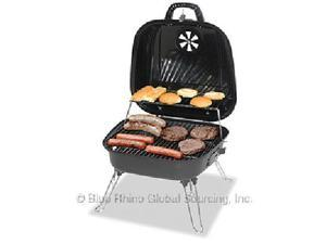 Grill Boss CBT806G Charcoal Grill - 2 Sq. ft. Cooking Area - Black