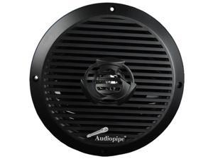 "Audiopipe 8"" 2-Way Coaxial Marine Speaker 350W Black"