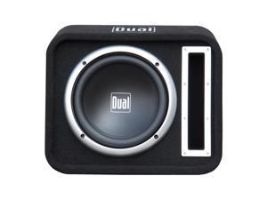 "Dual Single 10"" Woofer Enclosure Vented 500W Max Slot port"