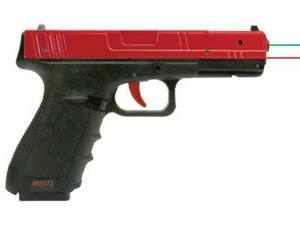 "NextLevel Training Performer RG SIRT Laser, Red Polymer Slide with Red Trigger ""Take-Up"" and Green ""Shot"" Indicating Las"