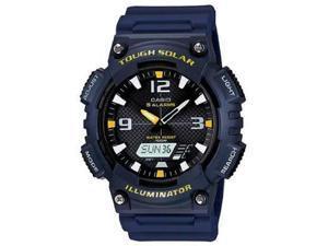 Solar AnaDigi Watch Navy Wht